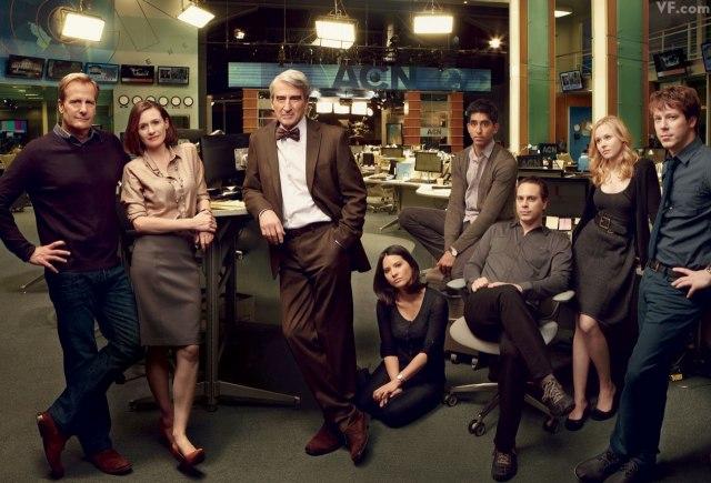 """La salle de rédaction de la série """"The Newsroom"""""""