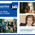 Le prochain Concert privé France Bleu s'enregistre ce soir à partir de 20h au studio 105 de la Maison de Radio France