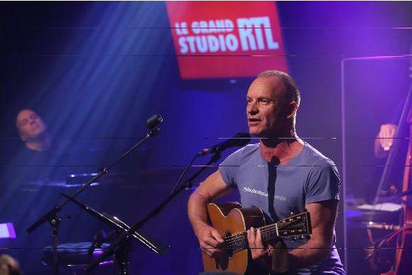 Sting - Crédit photo : Fred Bukajlo Abacapress pour RTL.