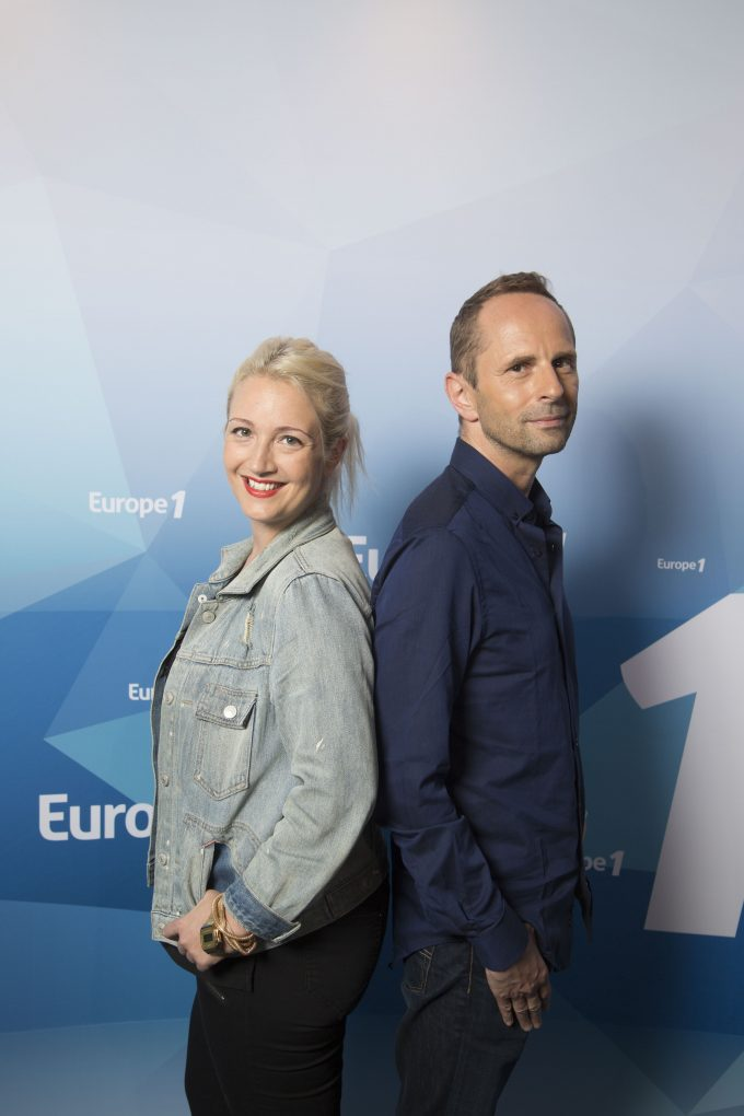 Europe 1. Portraits. Jean-Philippe Balasse. Emilie Mazoyer.