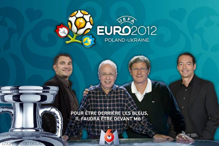 Euro 2012 sur M6